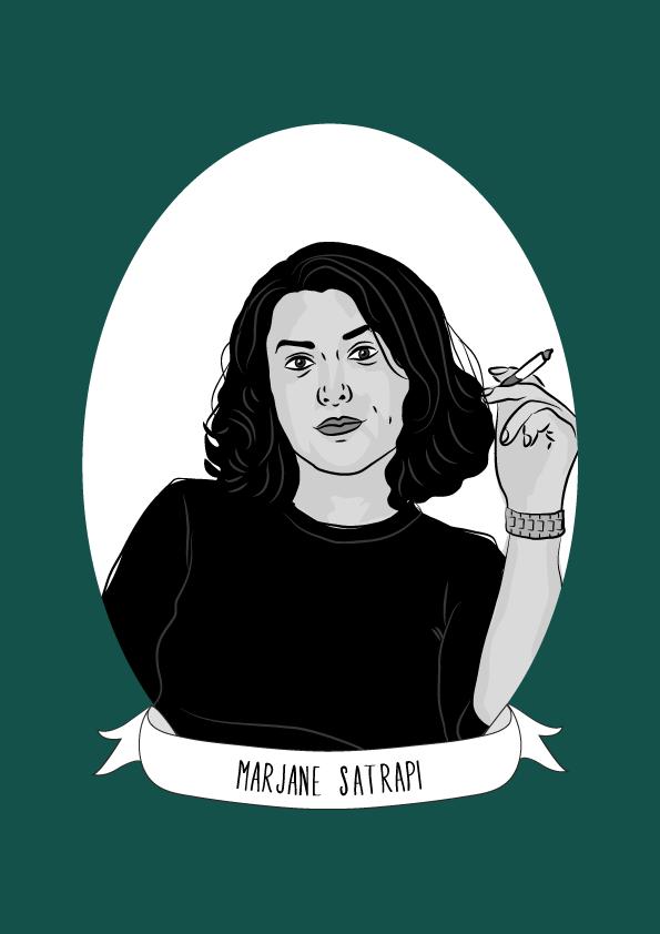 Marjane Satrapi Illustrated Women In History