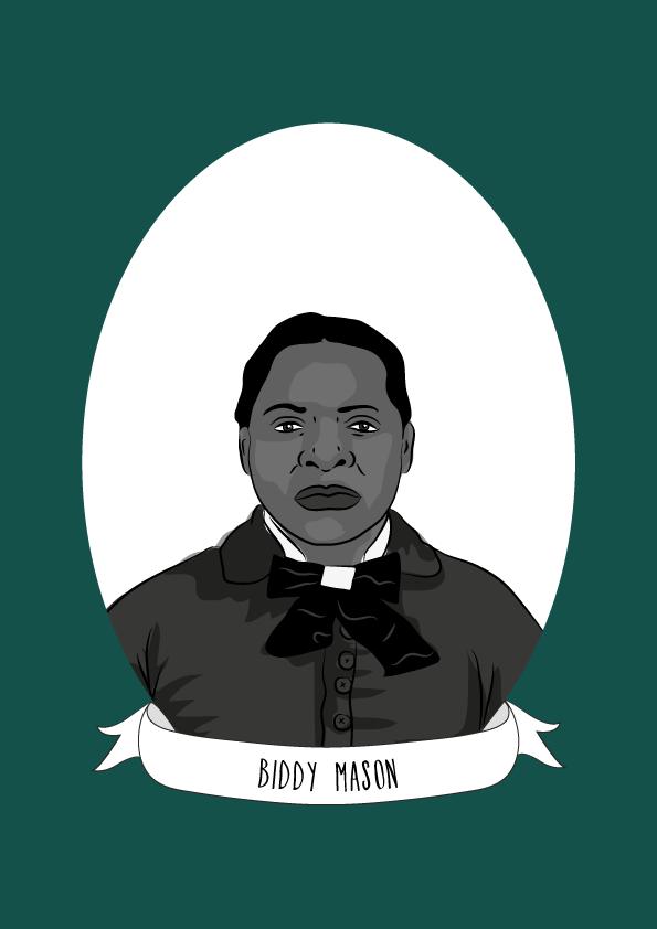 Bridget Biddy Mason Illustrated Women In History