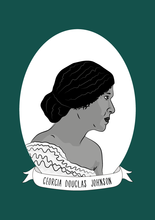 Georgia Douglas Johnson Illustrated Women In History